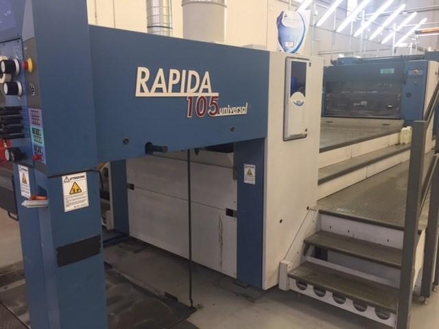 Show details for KBA Rapida RA105 5