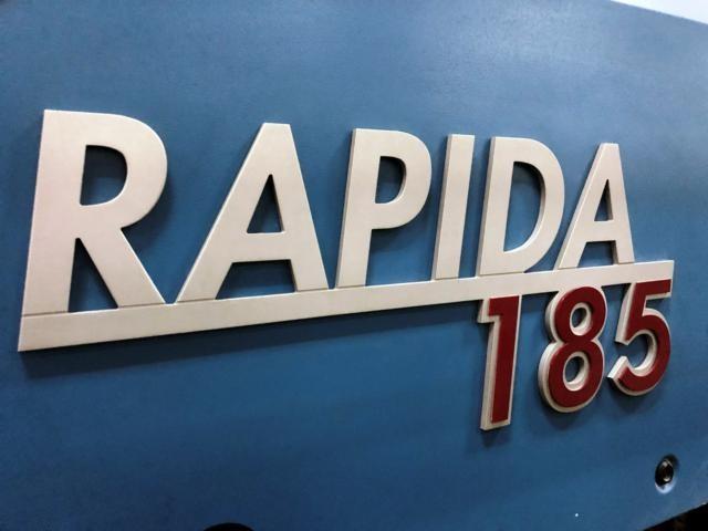 KBA Rapida 185 7+L+T+T+L+T CX