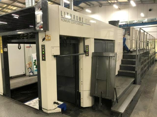 Komori LSX-640+Coater Hybrid Press