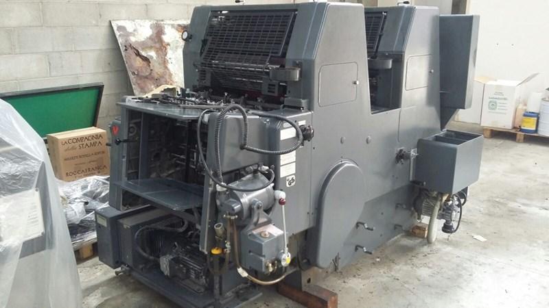 Heidelberg GTO 52 Z  + version