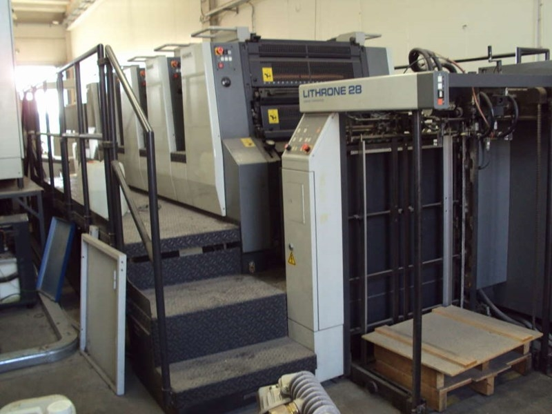 KOMORI LITHRONE 528 2004 year