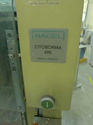 Nagel Citoborma 490 4-spindle paper drill
