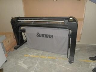 Summa S140 D Series Advanced vinyl and contour cutter