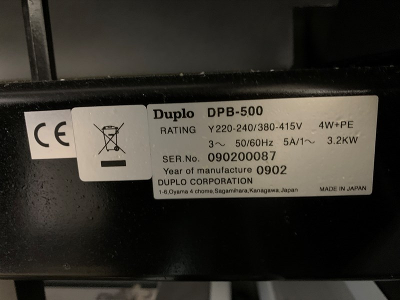 Duplo DPB-500 Perfect Binder