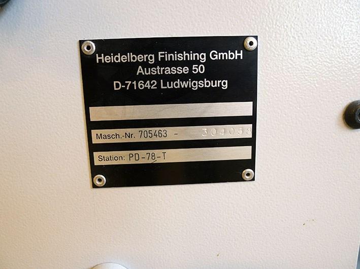 Heidelberg Stahlfolder KD.2-78/4 KZRL-PD-T