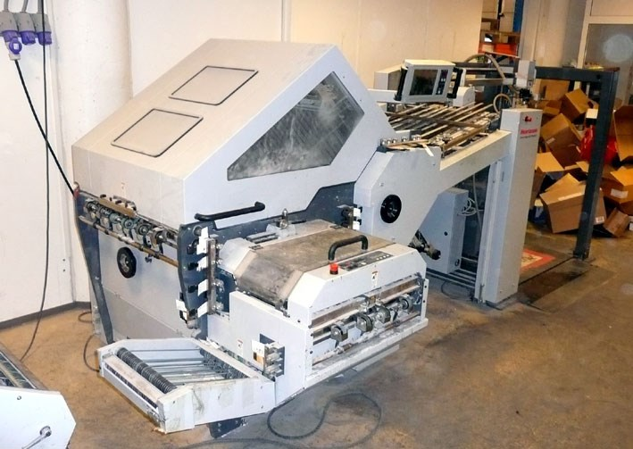Horizon AFC-744AKT with MKU-54 knife unit and PST-40 Press stacker