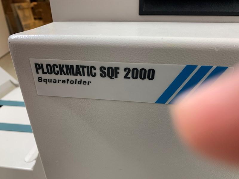 Plockmatic BM2000 Binder - FTR2000 Trimmer - SQF2000 Squarefolder
