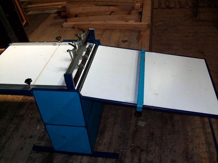 Siebdruck-Service Foil slitting machine