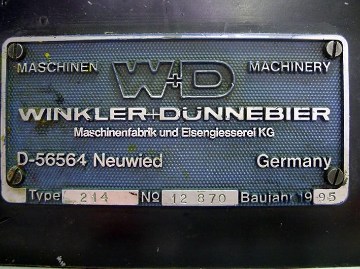 Used Winkler Dunnebier Helios 214 Envelope Printing