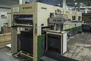 BOBST   1998  SP102E II (WITH EAGLE I FOLING SYSTEM)