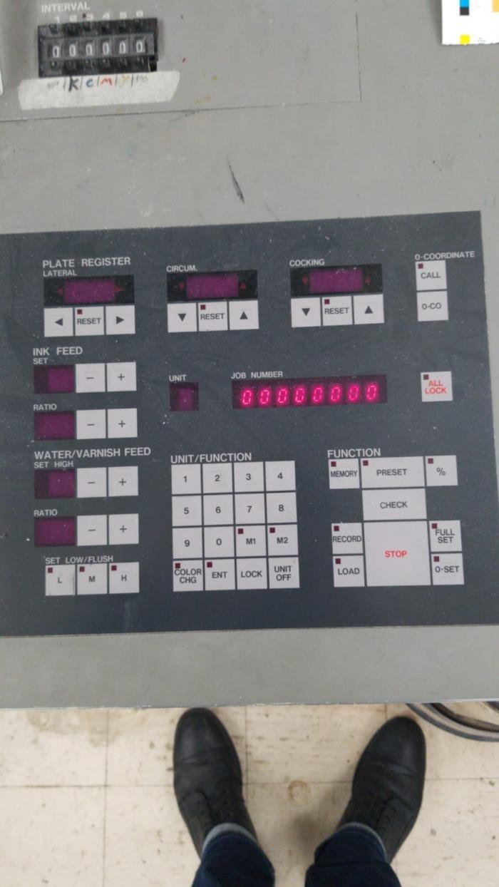 KOMORI   1997  L628 CX