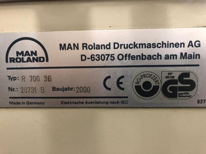 MAN ROLAND   2000  706 LV