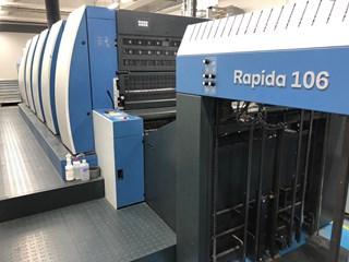 KBA Rapida 106-5 LED UV