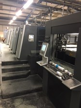 Heidelberg XL106-8P with Cut Star