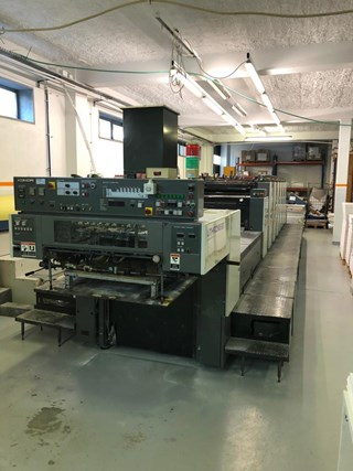 KOMORI LITHRONE L 628+C (EH)