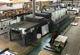 Man Roland R905-8 with Epic Coater
