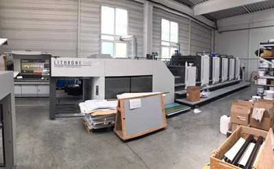 Komori LITHRONE GL 540 CX