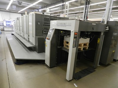Komori Lithrone GL 540+ CX