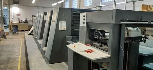 Heidelberg CD 74-6P3+LX-C