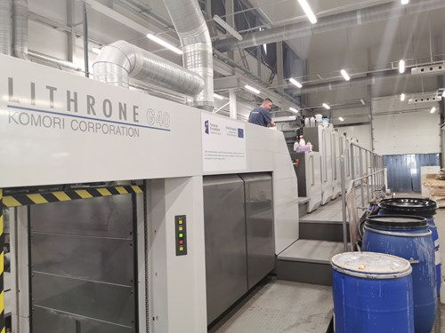 Komori Lithrone GL 740+C eUV