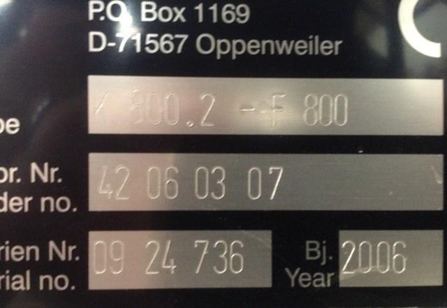 MBO K800.2 F 6 SKTL Navigator
