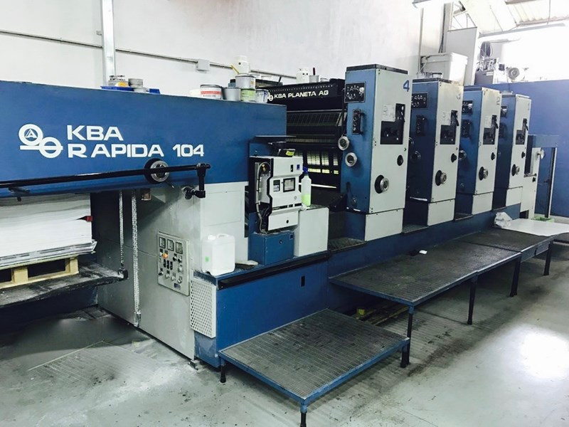 Show details for KBA Rapida 104CX