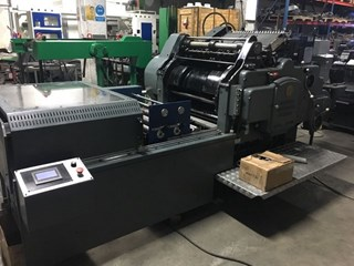 Heidelberg S (54x72) Cylinder With Hot Foil Stamping Unit