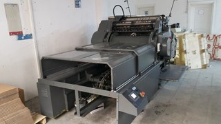 Heidelberg SBB With Hot Foil Unit
