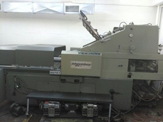 Johannisberg 104 S With New Hot Foil Unit