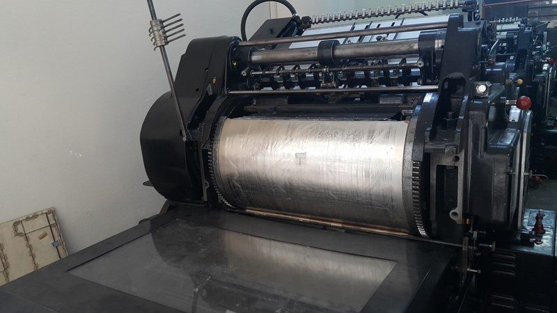 Heidelberg SBG cylinder