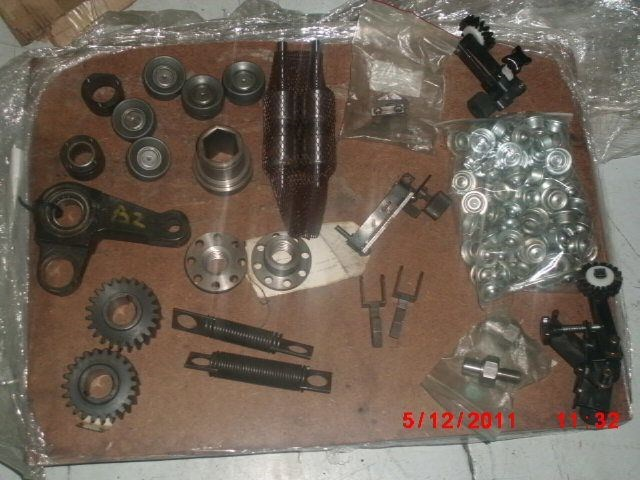 SPARE PARTS BOBST