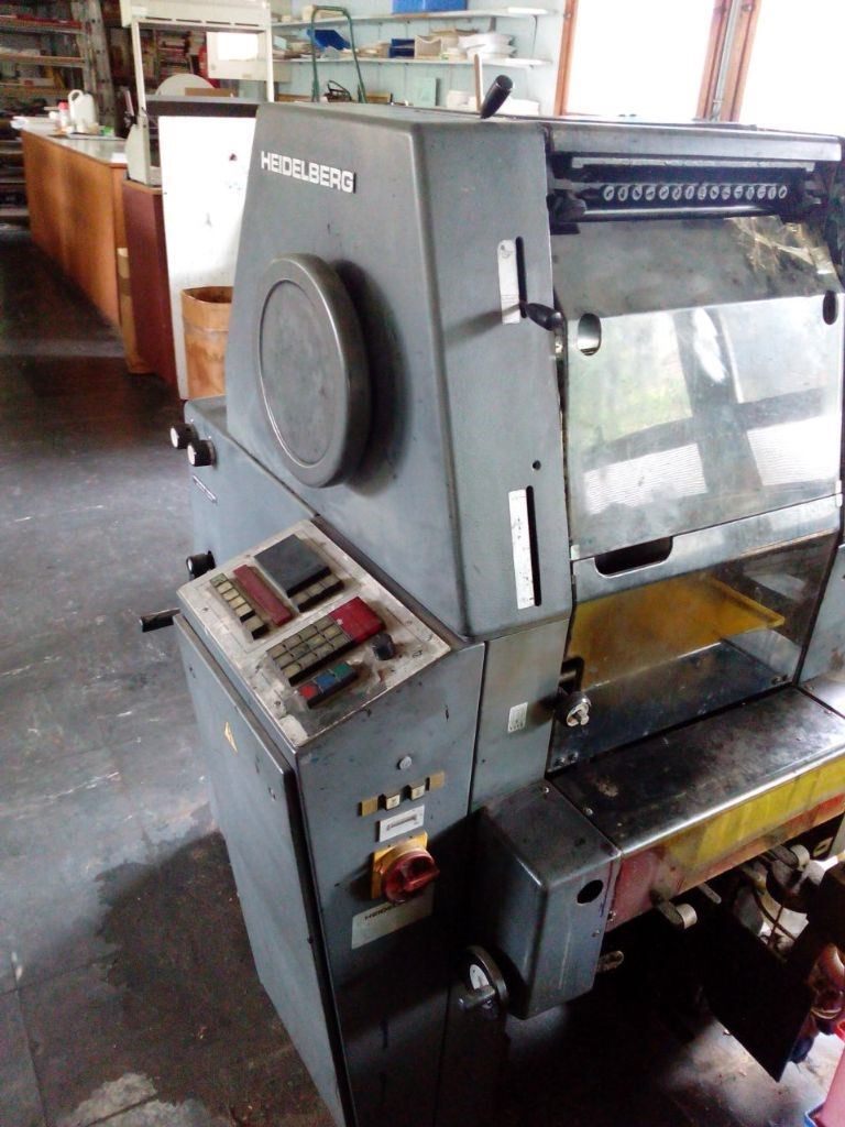 Heidelberg sorm single color