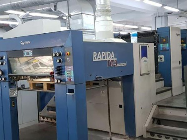 Show details for KBA Rapida 105U 6 L ALV2
