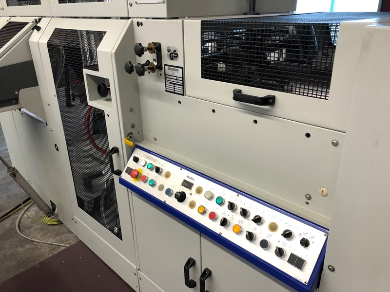 KOLBUS EMP 596 with FE 603