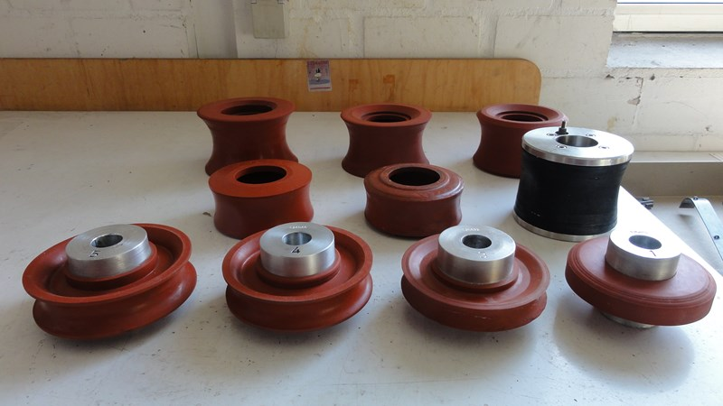 Glue Rollers for Book Production Lines