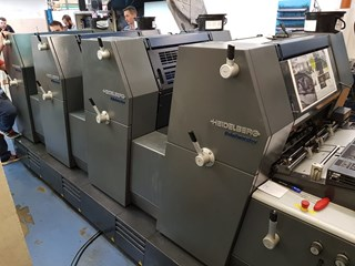 Heidelberg GTO PM 52-4 UV version