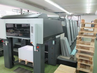 Heidelberg XL 75-5-C LEUV InPress Control
