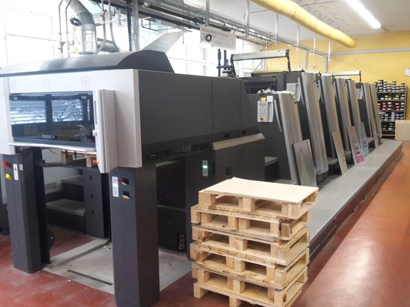 Heidelberg  XL 75-6-P+L-C LE UV Hybride