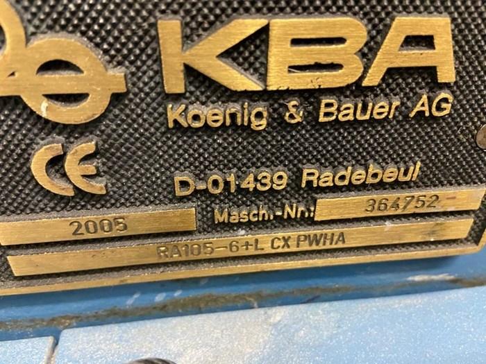 KBA Ra 105-6+L CX Hybrid