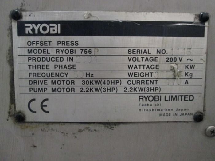 Ryobi 756 P+LX