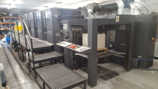 Heidelberg CD 102 V+L w. UV