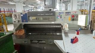 Polar 137 EMC-Monitor cutting line