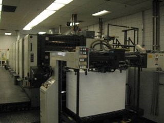 "1998 KOMORI L640 P CX - Six Color 28"" X 40"