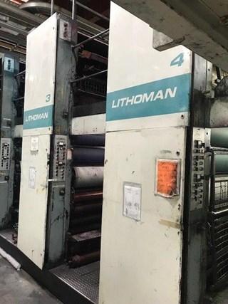 1987  MAN Roland LITHOMAN 4 Print Unit