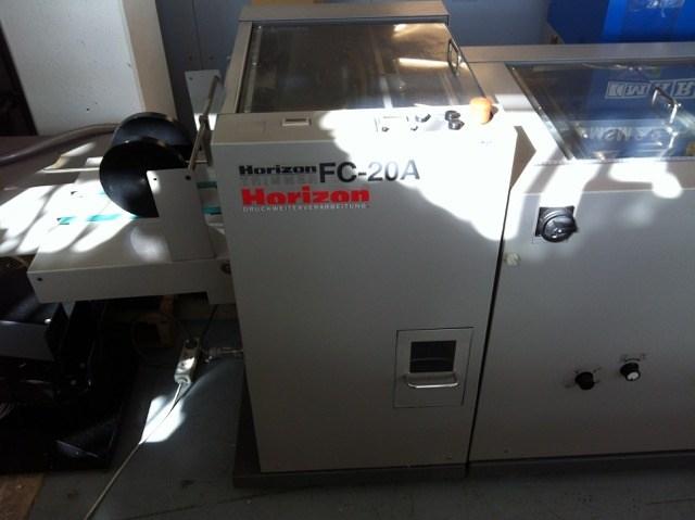 Horizon VAC-100a VAC-100c SPF-20A FC-20A PJ-77R