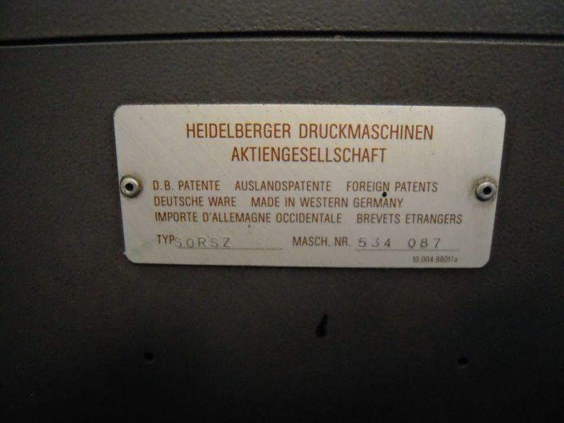 HEIDELBERG SORS-Z