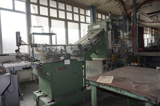 Sitma C-740-TR Shrink Wrapping Machine & Counter Stacker
