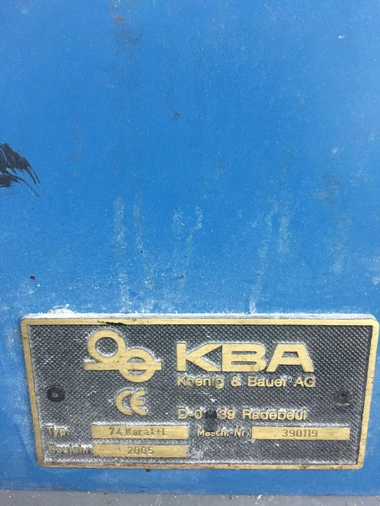 KBA Karat 74-4DI+L