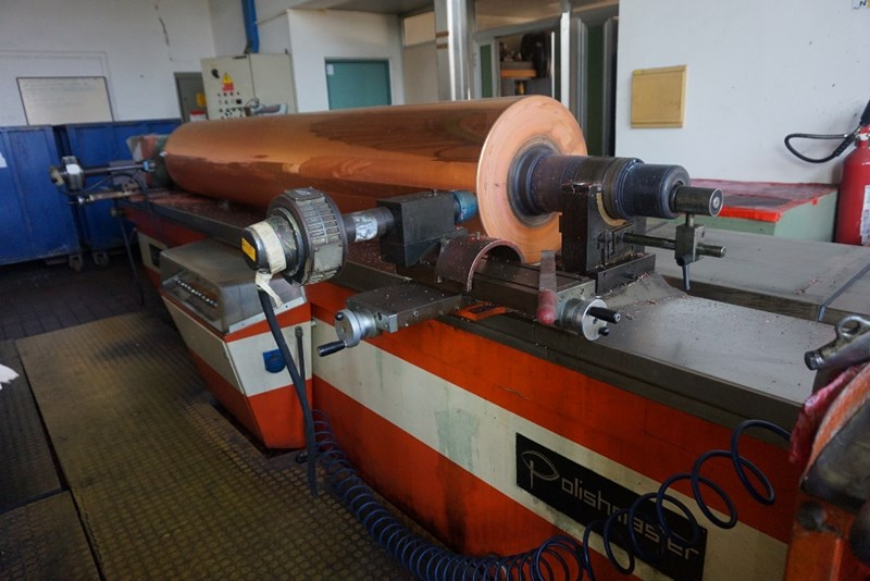 Piedmont Auto Sales >> Used MDC-Max Dätwyler AG Polishmaster BL2600 Cylinder ...