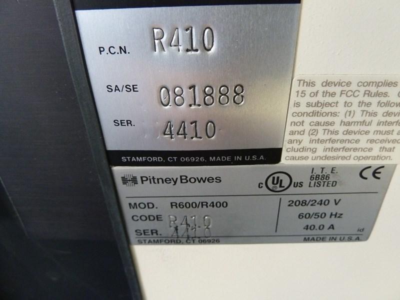 Pitney Bowes 8 Series R600/R400